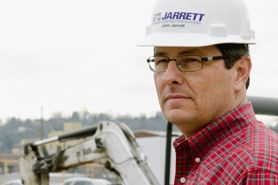 Civil engineering alumnus, John Jarrett, P.E., '84.