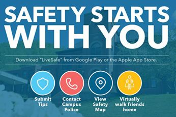 The LiveSafe app helps students look out for one another on campus.
