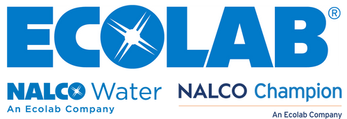 Ecolab and Nalco Water and Champion Sponsorship logo