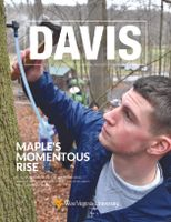 Fall 2018 Davis Magazine Cover with text Maple Momentous Rise