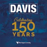 Davis Mag Cover for Celebrating 150 Years