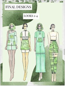 Four of Jillian Smith's designs.