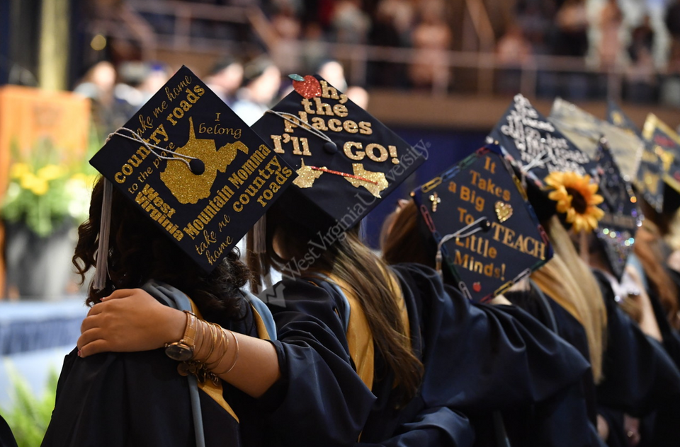 WVU May Graduation Cap