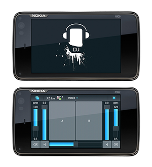Mock-Up of Multi-Modal Musical Mobile Mixer