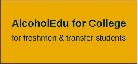 AlcoholEdu for College Button