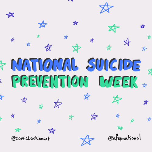 National Suicide Prevention Week icon