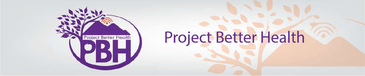 Project Better Health (PBH) Banner