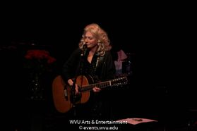 Judy Collins performing at the WVU Creative Arts Center. Photo by Logan McMasters.