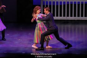 Scene from the production of Dirty Dancing. Photo by Logan McMasters.