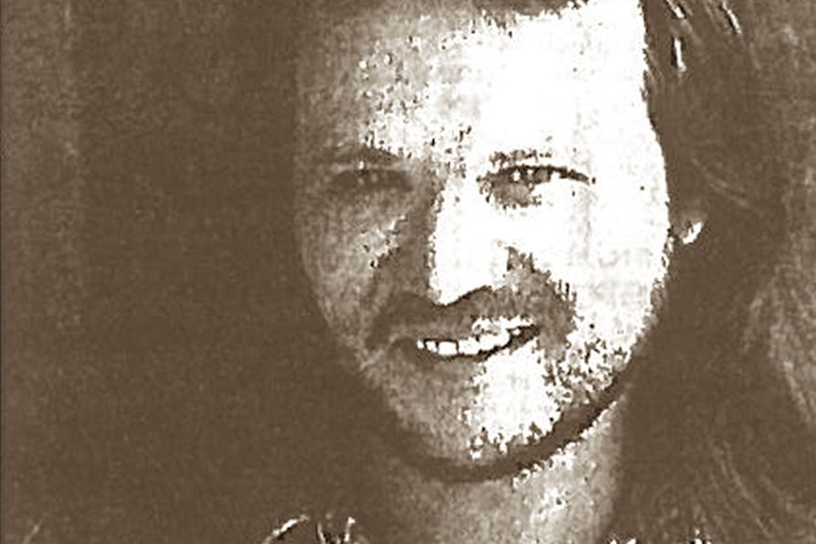 Stylized image of Travis Tritt from the promotional material for his 1995 Coliseum concert