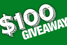 100 dollar giveaway