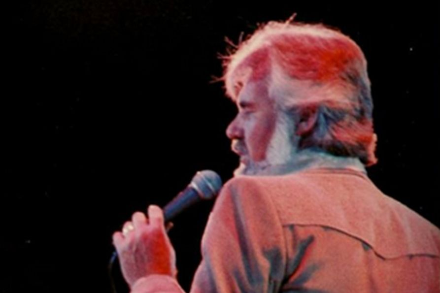 Kenny Rogers performing at the Coliseum