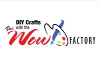 DIY Crafts with the Wow Factory and a paint brush and palette