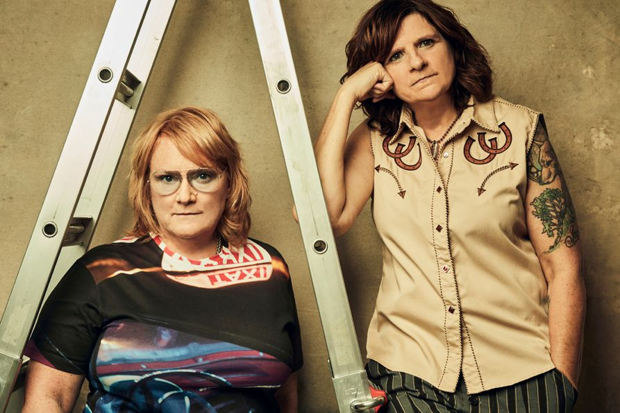 Amy Ray and Emily Sailers