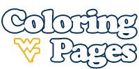 WVU Coloring Pages