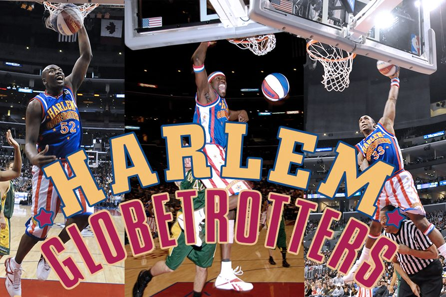 photos from the Harlem Globetrotters game  in 2010