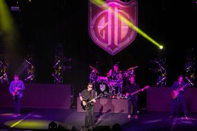 George Thorogood & The Destroyers preform at the WVU Creative Arts Center. Photo by Julia Hillman.