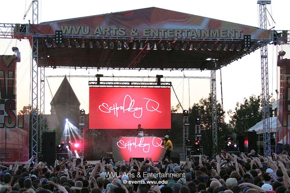 Fallfest 2015 Arts Entertainment West Virginia University