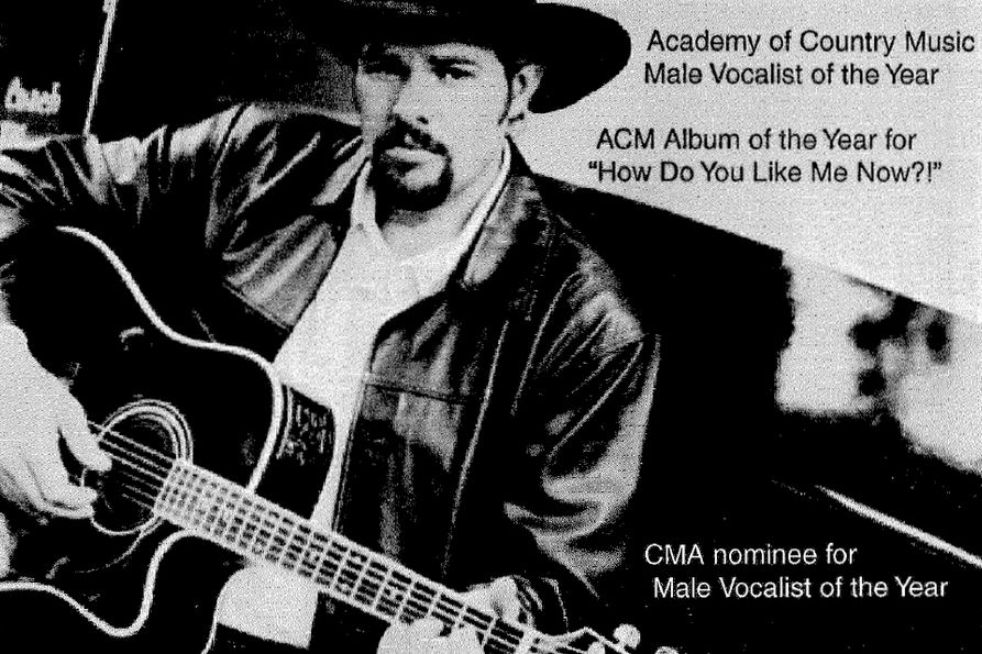 Photo of Toby Keith from 2001 newspaper ad