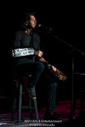 Rick Springfield performs at the WVU Creative Arts Center. Photo by Logan McMasters.