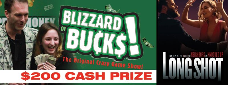 Blizzard of Bucks Game Show and movie Long Shot