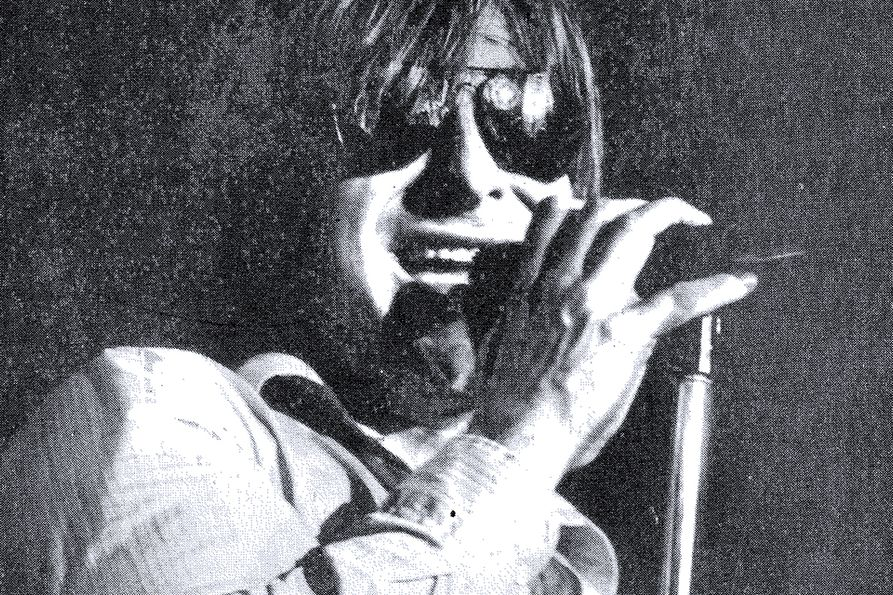 Southside Johnny at the microphone