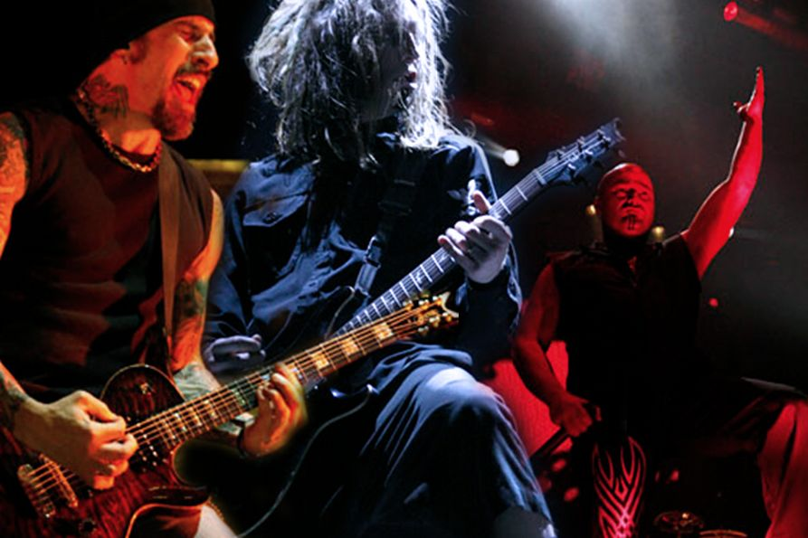 Images from the 2011 Korn and Disturbed concert at the WVU Coliseum