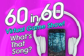 60 in 60 virtual game show. What's that song theme.
