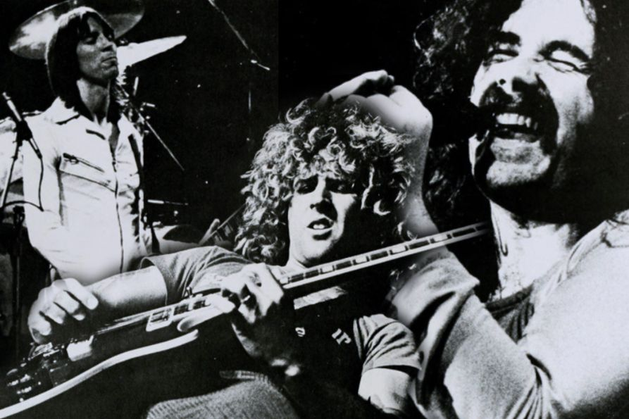 Sammy Hagar and members of Boston performing at the Coliseum in 1979. From the Monticola.