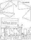FallFest Coloring Page