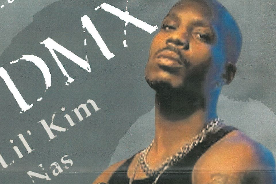 Photo of DMX taken from the 2003 concert poster