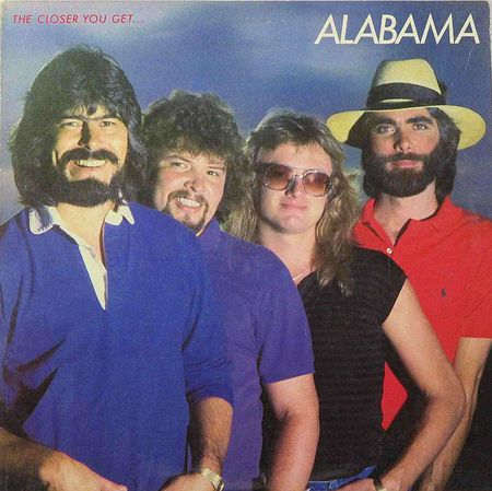 The Closer You Get album cover depicting all 4 members of Alabama