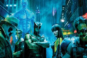 The superheroes of Watchmen