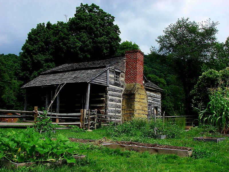Historic Farmstead at WVU Jackson's Mill.