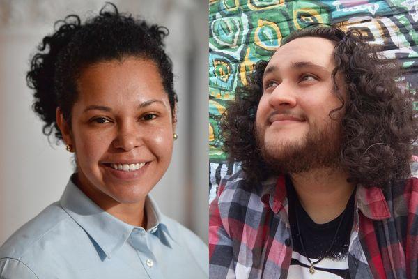 Ellen Rodrigues and Daniel Gallegos