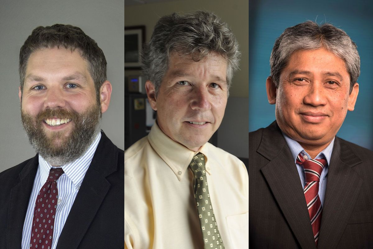 Collage of three WVU experts on census data analysis