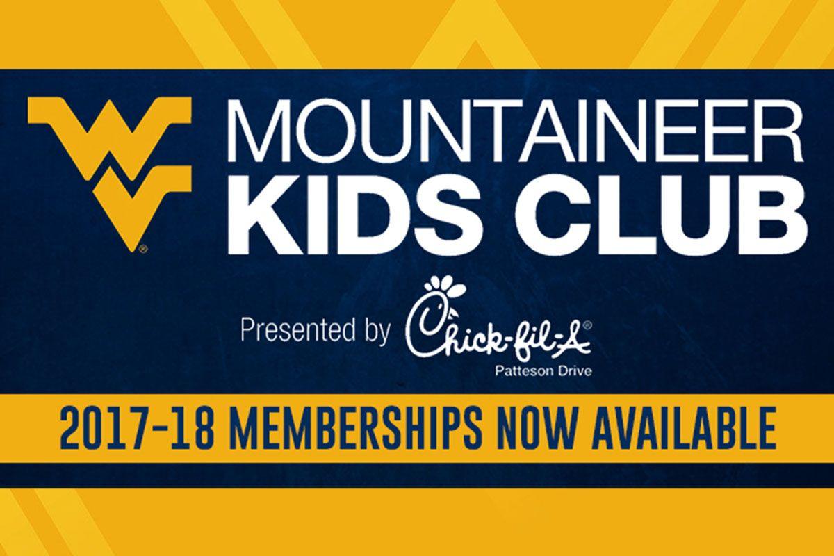 Mountaineer Kids Club membership graphic - Mountaineer Kids Club 2017-18 membership now available