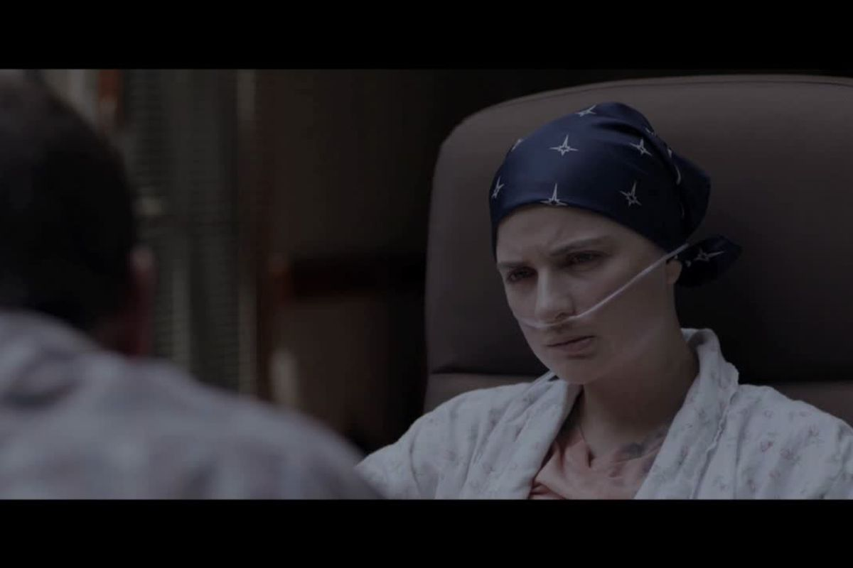 Madelyn Dundon starring as Grace, a teenager with cancer