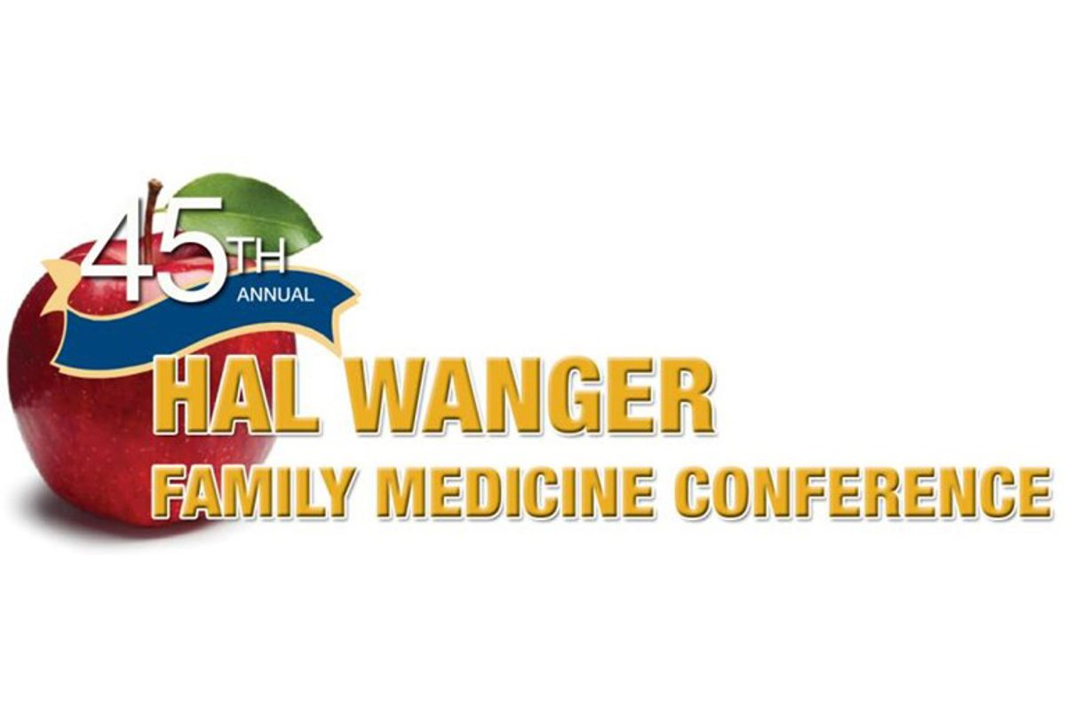 graphic for Hal Wanger Family  Medical Conference