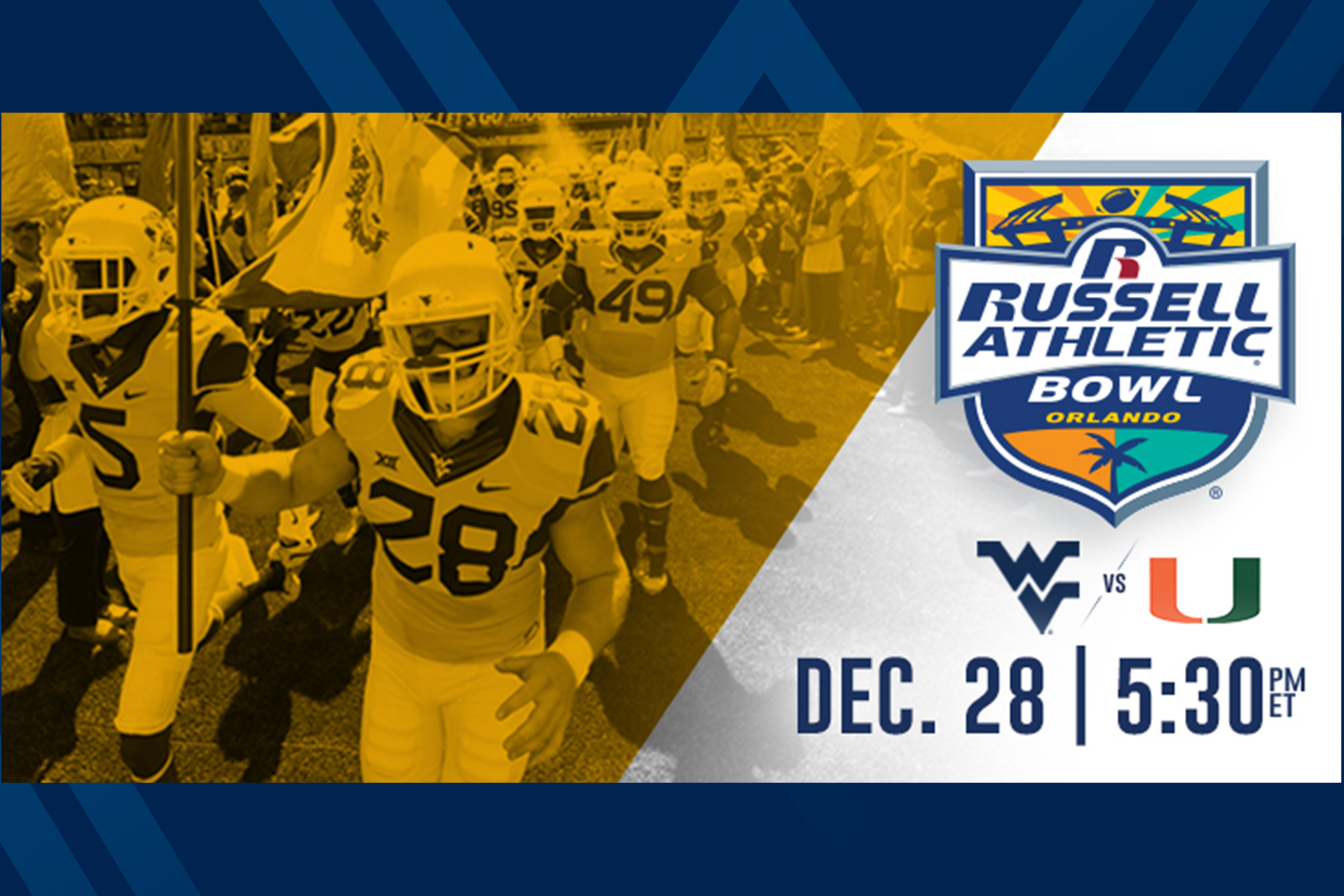 Mountaineer invited to Russell Athletic Bowl fan events in Orlando