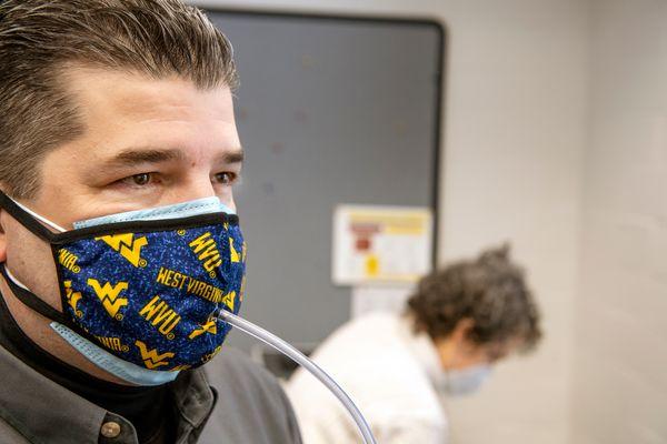 Man in masks
