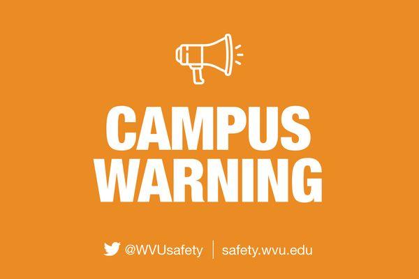 campus warning graphic