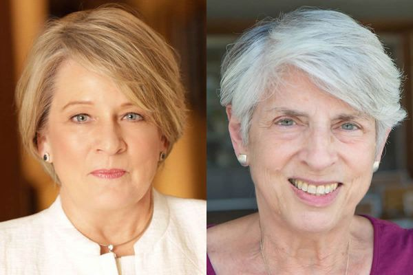 Drs. Sally Hodder and Judith Feinberg