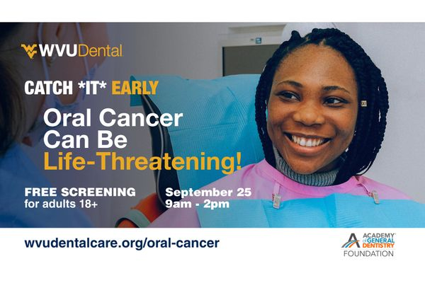 graphic for Catch It Early oral cancer screenings