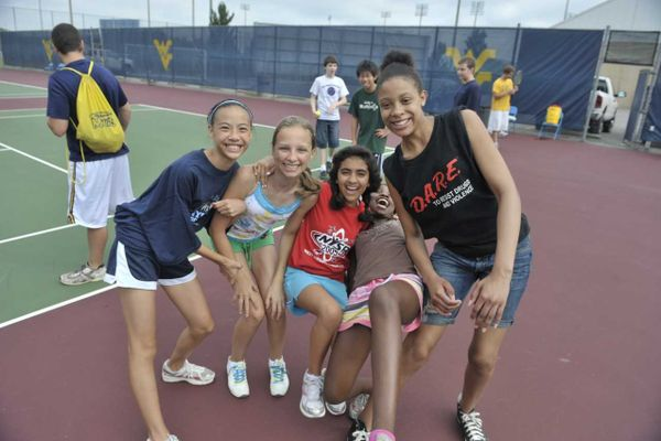 Four girls participate in WVU Summer Camps