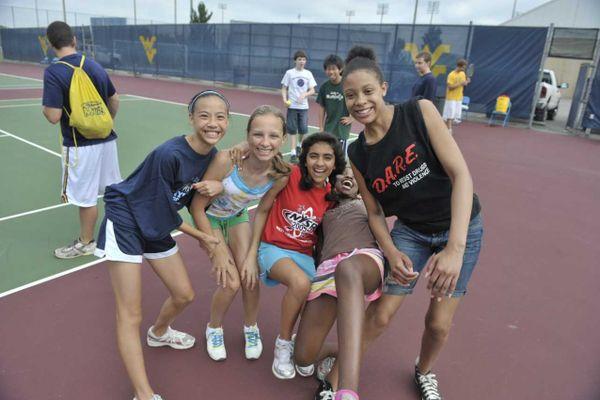 Four girls participate in WVU Summer Camps