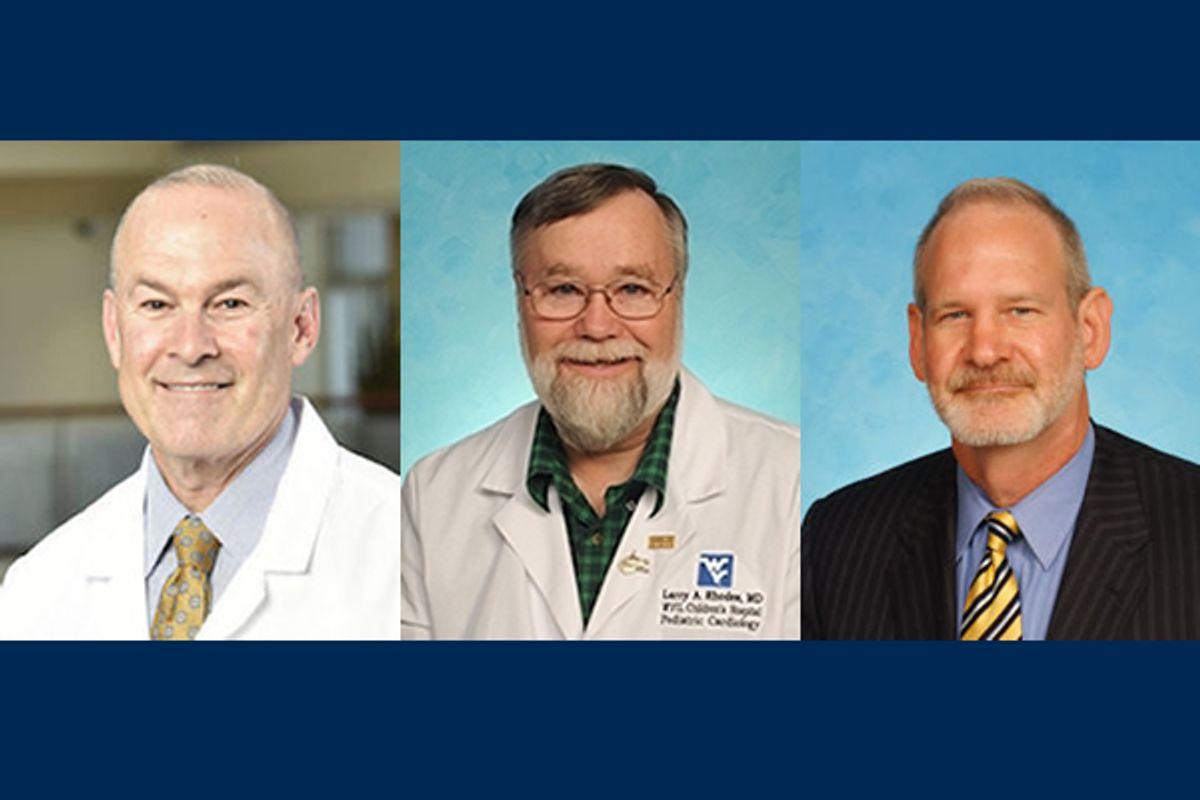 three men in composite photo