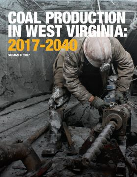 Coal Production in West Virginia 2017 to 2040