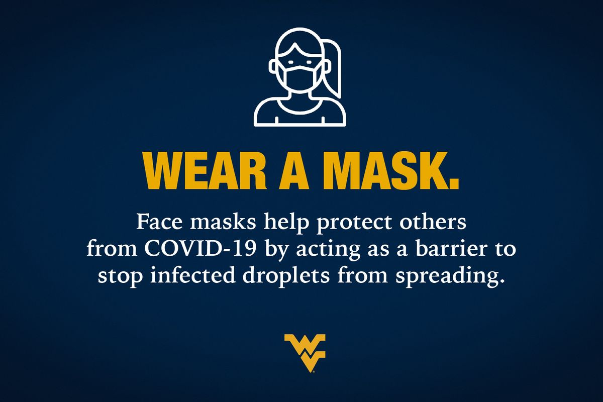 WEAR A MASK info graphic