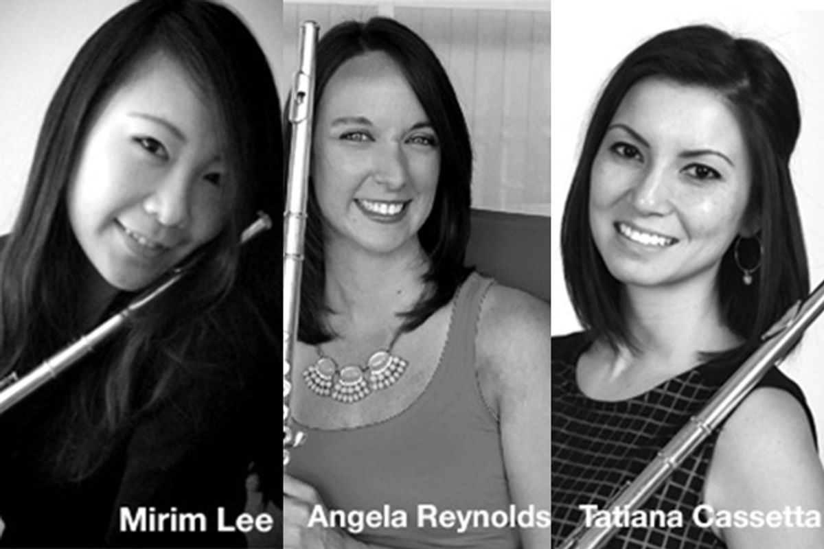 Mirim Lee, Angela Reynolds, and Tatiana Cassetta